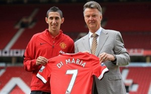 Angel Di Maria ke Manchester United