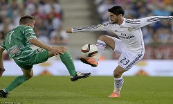 Real Madrid vs Cornella 3 Desember